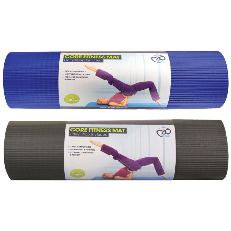 Core Fitness Mat 10mm And 15mm Sp Sports