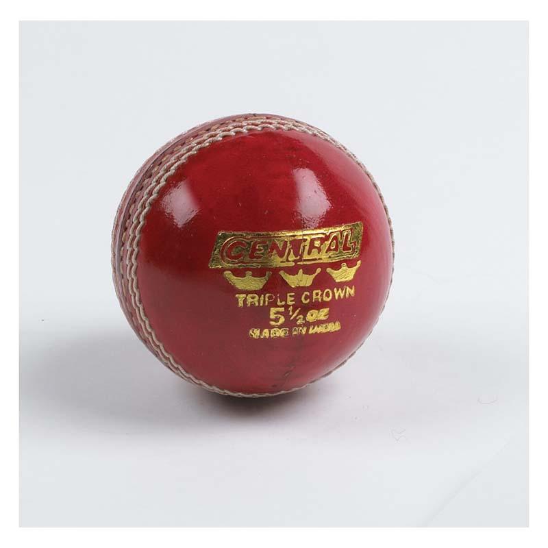 827e92a7a7a Central Triple Crown Cricket Ball - SP Sports